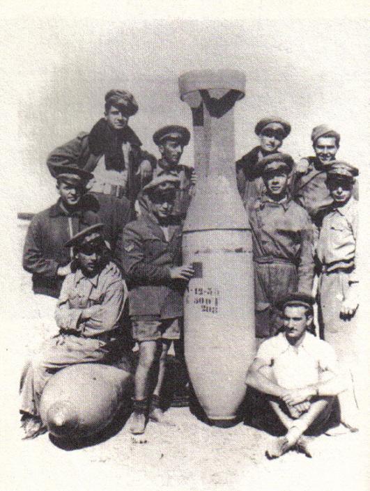 Bombe 500 C-T (origine inconnue).