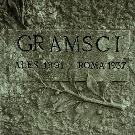 Tomba di Gramsci -Cimitero acattolico, Roma, 2013 © Olivier Favier.