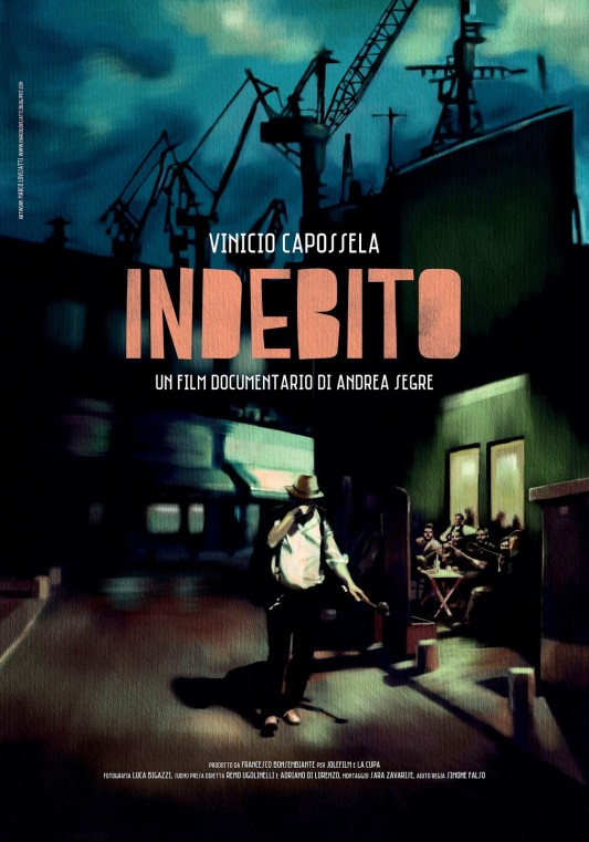 Indebito (Italia - 2013) un film di Andrea Segre e Vinicio Capossella. Manifesto di Marco Lovisatti.