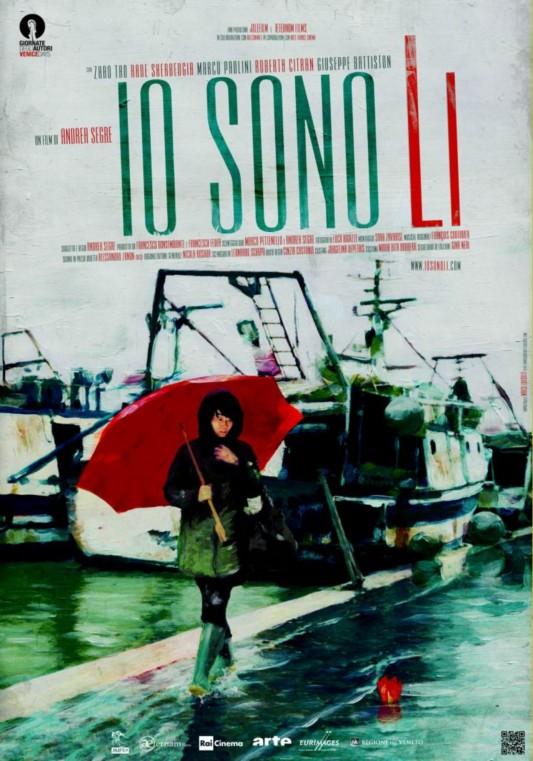 Io sono Li  (Italia, 2011). Manifesto di
