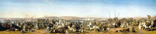 Prise de la smalah d'Abd-El-Kader à Taguin le 16 mai 1843, par Horace Vernet.
