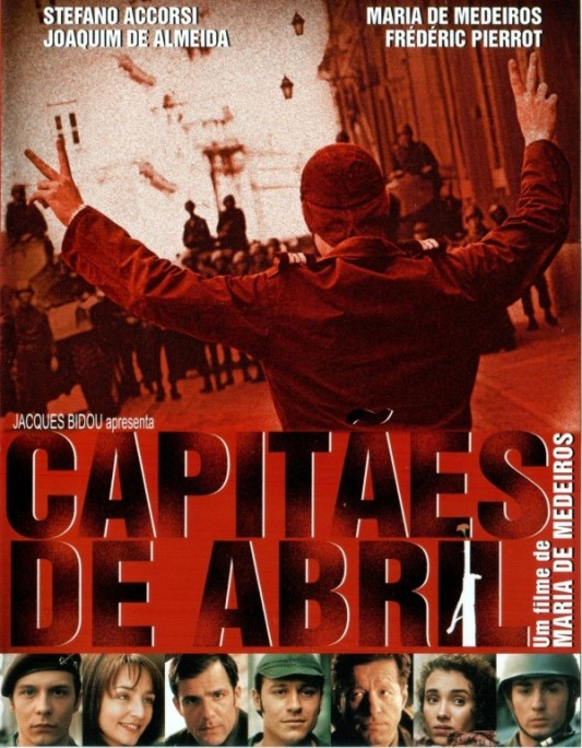 Capitaines d'avril, un film