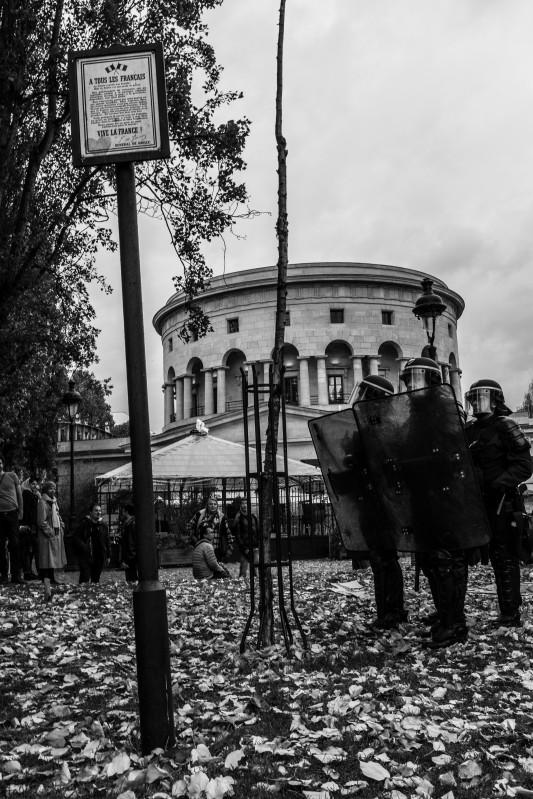 Place de la bataille de Stalingrad,  novembre 2014. Photo: Olivier Favier.