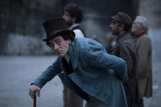 Elio Germano, dans le rôle de Leopardi pour le film de Mario Martone. Sortie nationale en France le 8 avril 2015.
