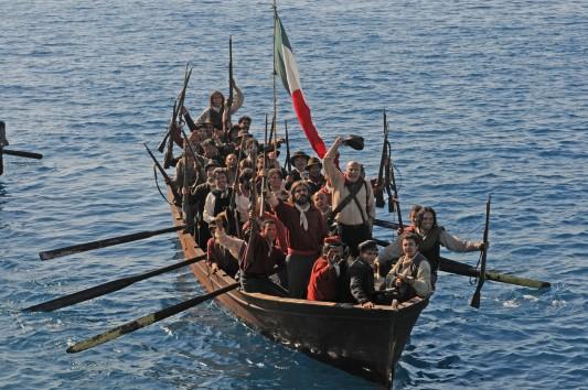 Une scène de Noi credevamo (Frères d'Italie), 2012, de Mario Martone.
