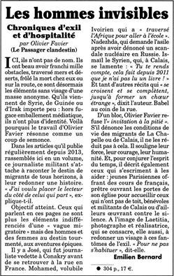 Canard enchaîné, 27 juillet 2016.